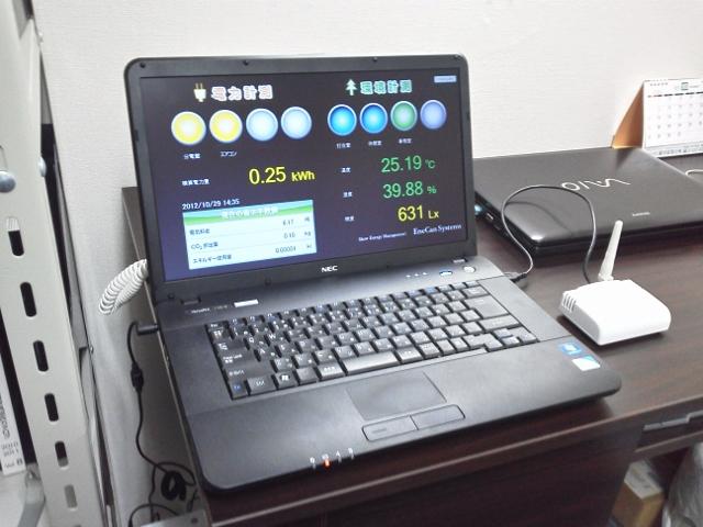 エネ管システムズ EneCan Navi S  電力2台 環境2台